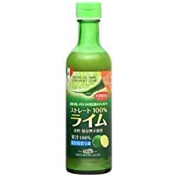 今、読むべきメキシコ産ライム果汁290ml ストレート100%果汁 香料・保存料不使用